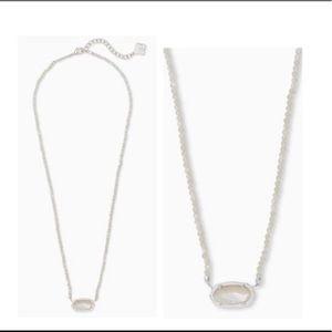 Kendra Scott Ivory Pearl Elisa Beaded Necklace
